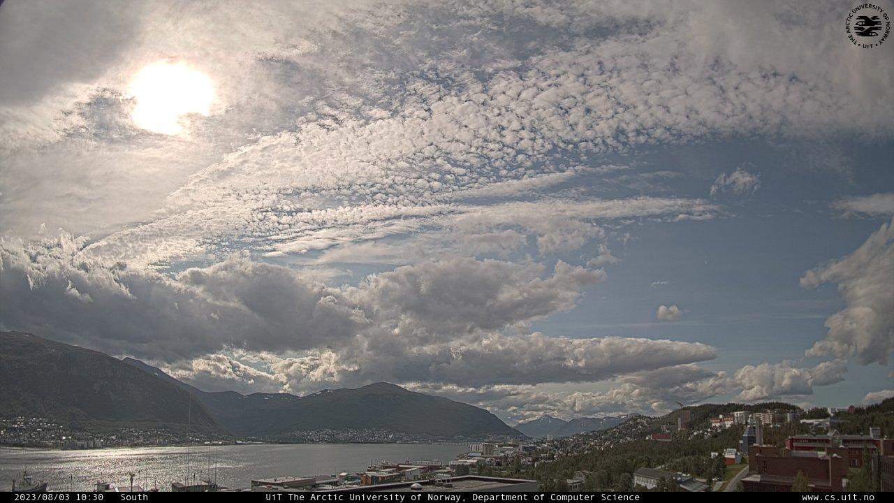 Tromsø (ein Standbild, laufend aktualisert)