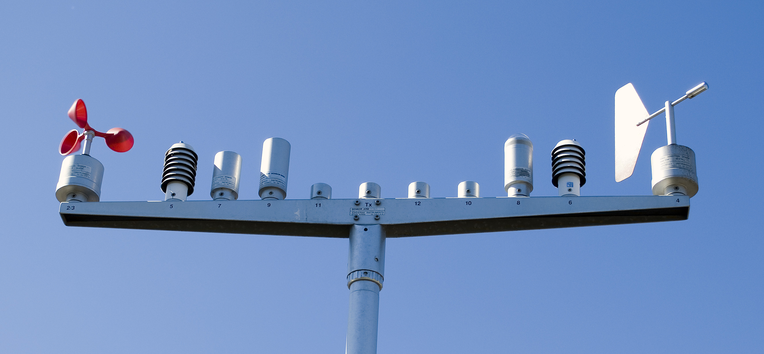 Sensor Arm Big on Air Pressure Sensor
