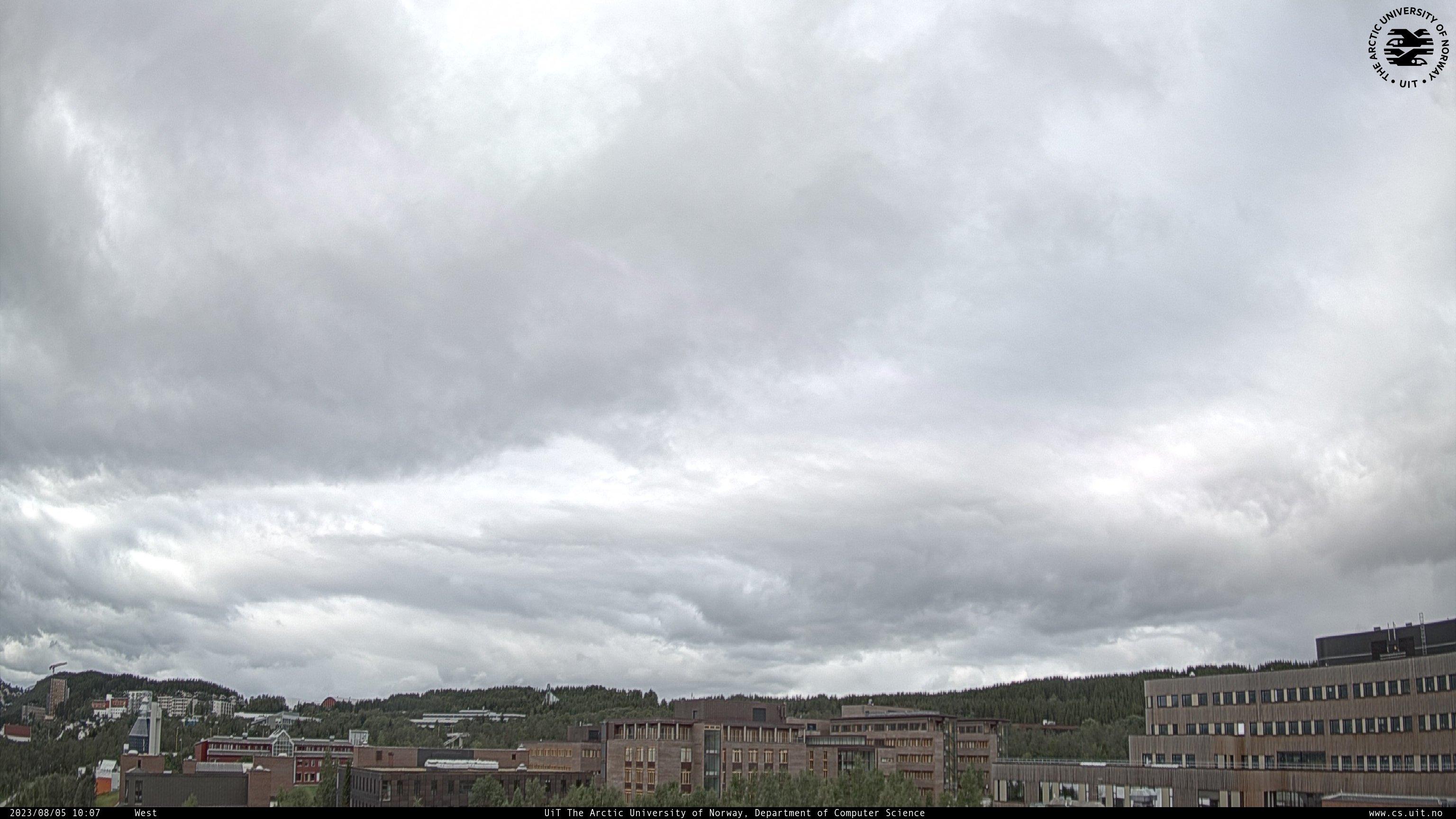 Webcam Université de Tromsø, caméra ouest