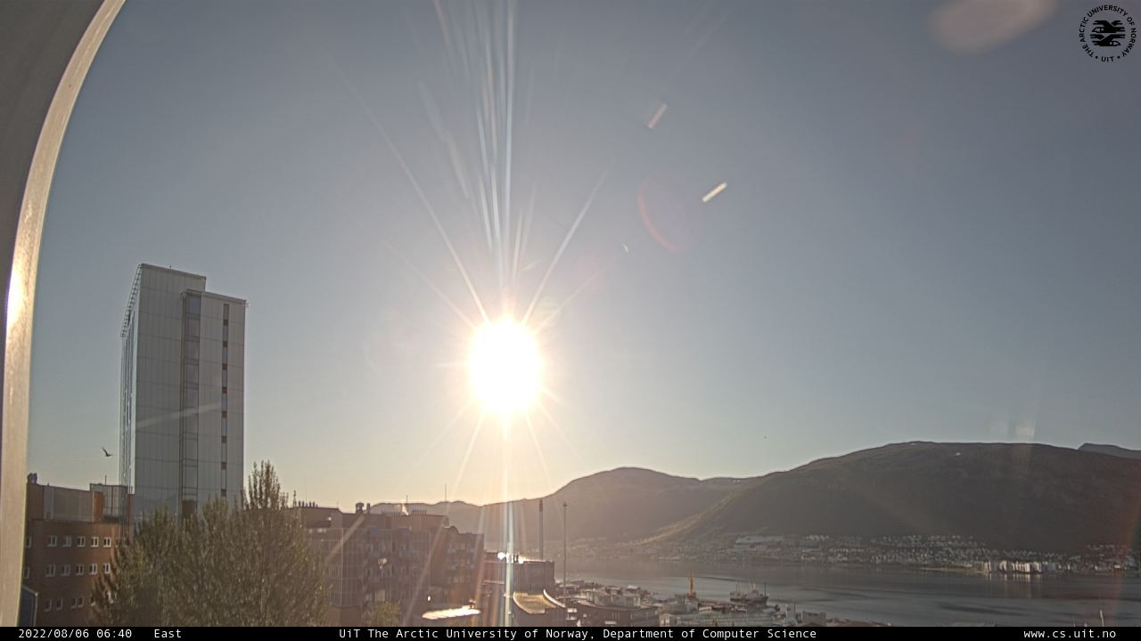 Web Camera is located in Tromso, Norway.